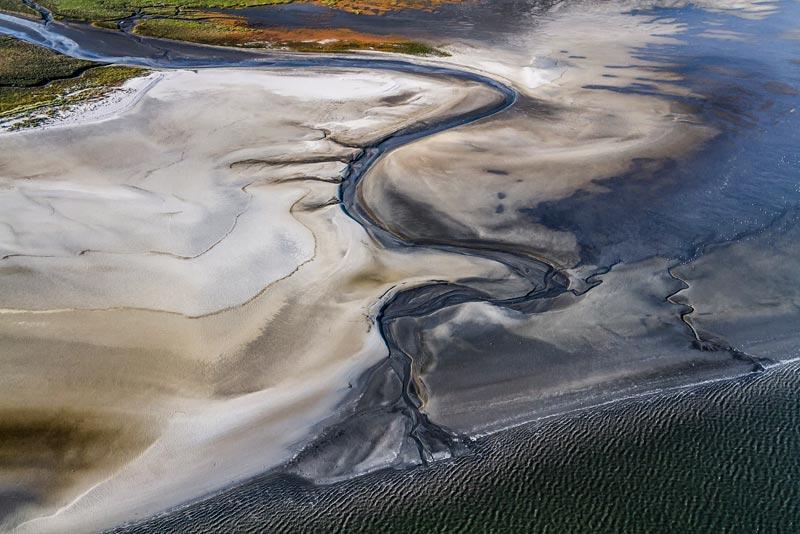 Foto: St. Peter-Ording im Nationalpark Schleswig-Holsteinisches Wattenmeer