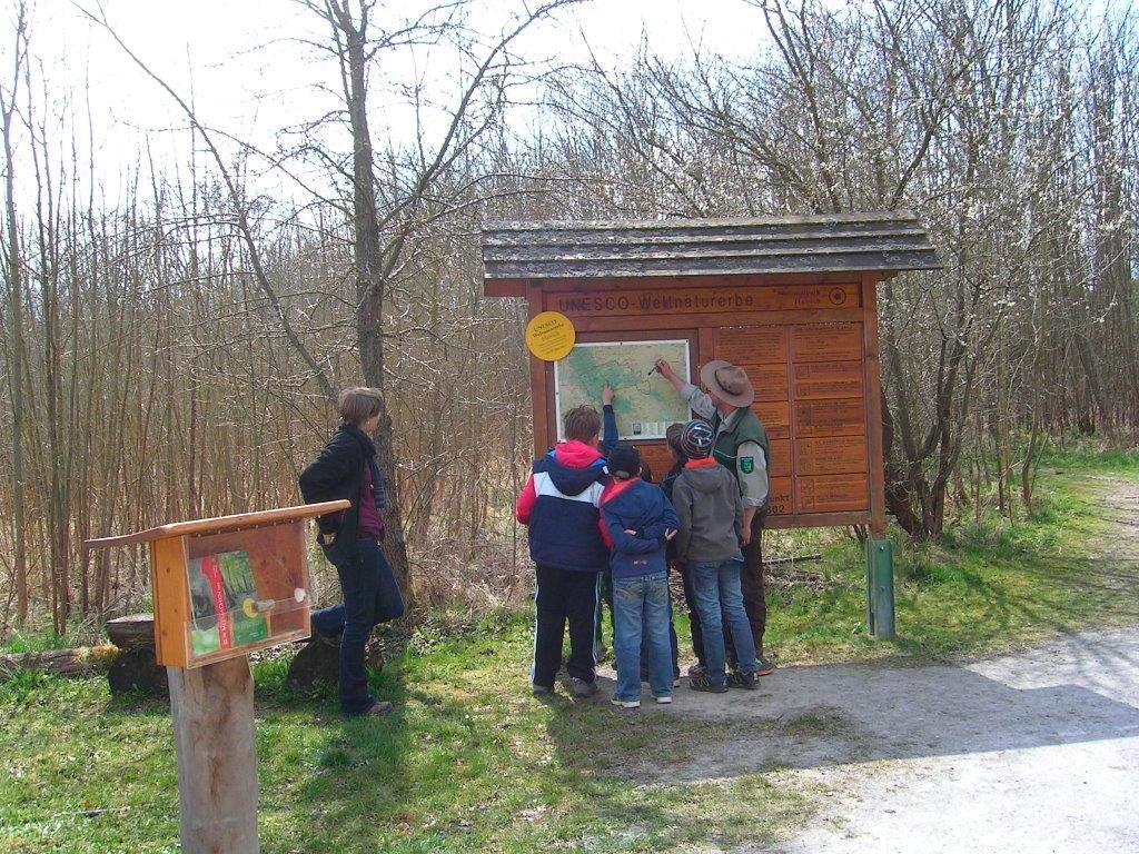 Foto: Patenschüler des Nationalpark Hainich