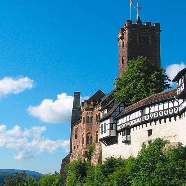 Foto: UNESCO-Weltkulturerbe Wartburg